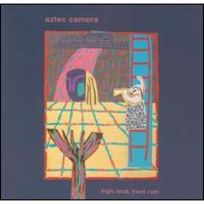 AZTEC CAMERA - high land, hard rain LP
