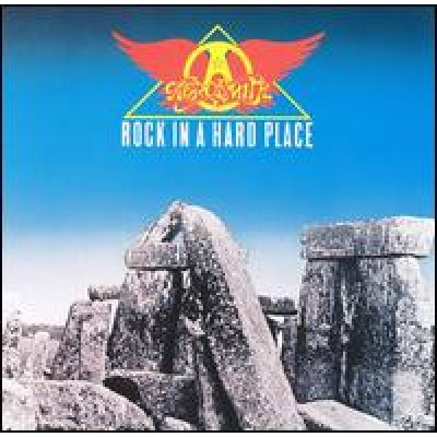 AEROSMITH - Rock In A Hard Place (LP)