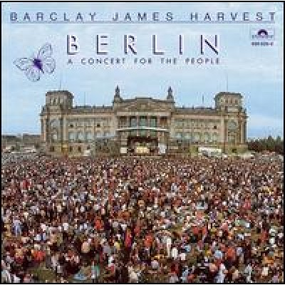 BARCLAY JAMES HARVEST - berlin (a concert for the people) LP