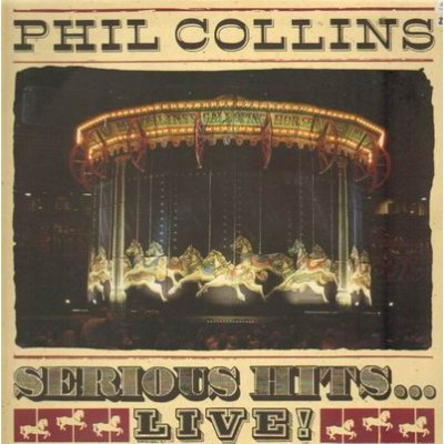 COLLINS, PHIL - serious hits live! (2 LP)