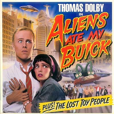 DOLBY, THOMAS - Aliens Ate My Buick (LP)