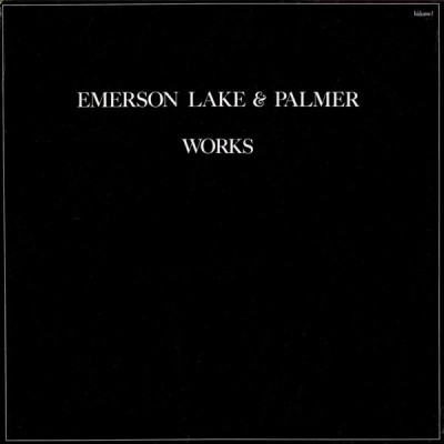 EMERSON, LAKE & PALMER - works  2 LP
