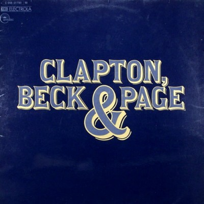 CLAPTON, BECK & PAGE - CLAPTON, BECK & PAGE LP