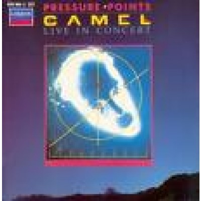CAMEL - pressure points  live in concert LP